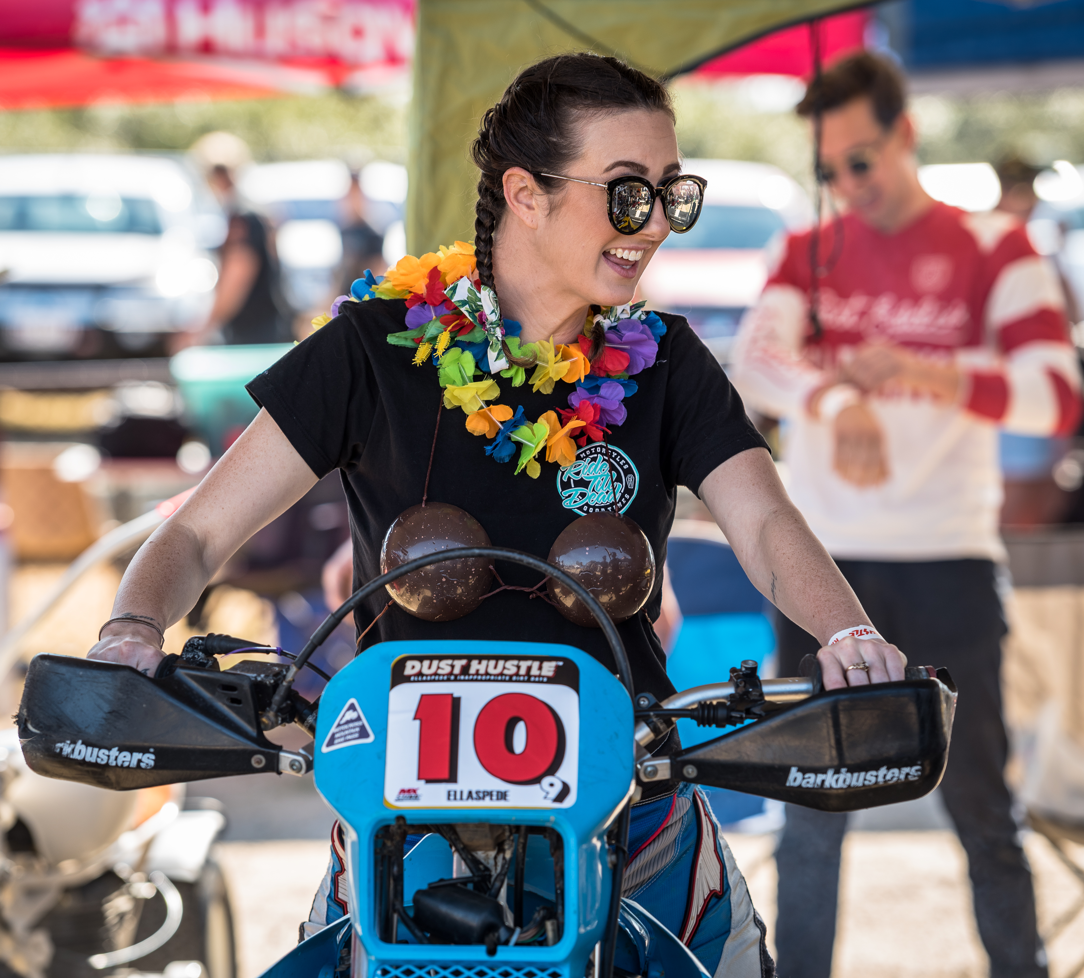 Kathleen Ferguson - Best In Class, Enduro & MX class. Photo: Motorcycle Pics